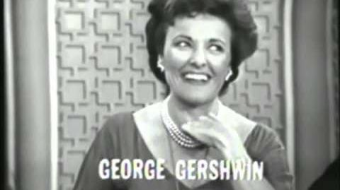 You Don't Say (January 14, 1964; primetime)