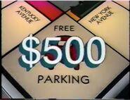$500 Free Parking