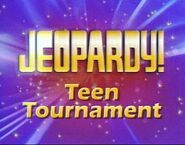 Jeopardy! Season 23 Teen Tournament Title Card