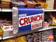 Supermarket Sweep Nestle Crunch Bonus