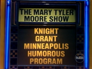 The Mary Tyler Moore Show Puzzle