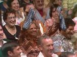 Audience Member Gets Gene Socks