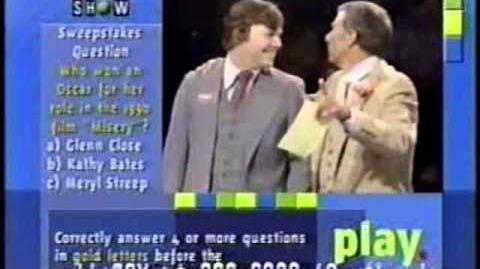 Family Feud (Taped October 20, 1980) Coryell Hardoin (WIN-TV) Part 2