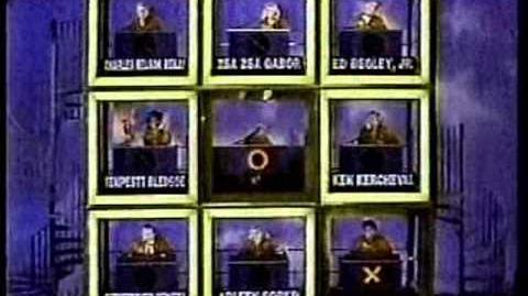 Hollywood Squares (October 17, 1986) Jim vs Sheila Part 2