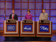 Jeopardy! sushi bar set contestant podiums 2