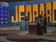 Jeopardy! Game in Progress