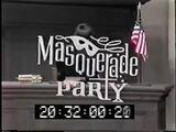Masquerade Party 1970s