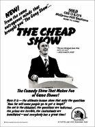 The Cheap Show 1978 ad alt