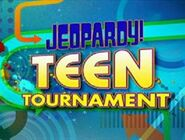 Jeopardy! Season 24 Teen Tournament Title Card