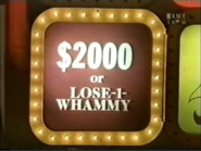 PYL $2000 or Lose a Whammy