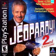 Jeopardy! 2nd Edition Playstation Video Game