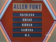 Allen Funt Puzzle