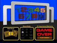 High Rollers Flash Game Over