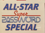 All-Star Super Password Special