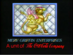 Merv Griffin Enterprises logo with Coca-Cola byline