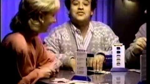 Classic Wheel of Fortune and Jeoprady Board Games II Retro Commercial
