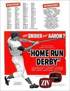 Home Run Derby 4-25-1960