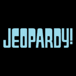 Jeopardy! Logo in Aqua Blue