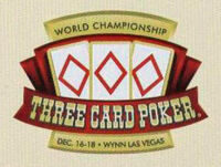 WORLD CHAMPIONSHIP THREE CARD POKER