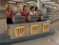 Supermarket Sweep Contestants Arena Panel Shot