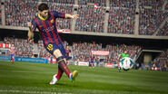 FIFA 15 Messi Playing
