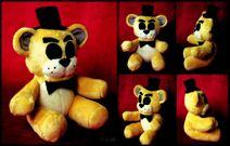 Golden Freddy Plush