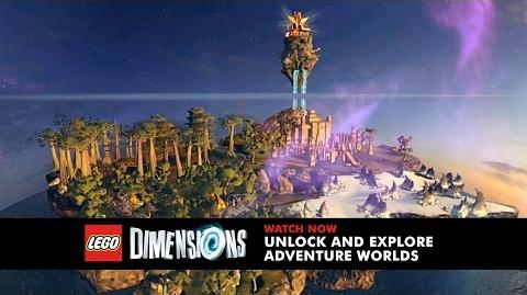 LEGO Dimensions - Adventure Worlds Trailer