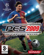 Pro Evolution Soccer 2009 Cover