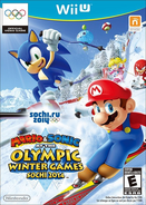 Mario & Sonic at the Olympic Winter Games 2014 Cover