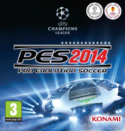 Pro Evolution Soccer 2014 Cover