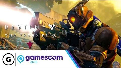 Destiny The Taken King - We Are Guardians Gamescom 2015 Trailer