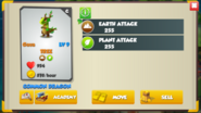 Tree Dragon Stats Level 9