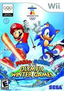 Mario & Sonic at the Olympic Winter Games Cover