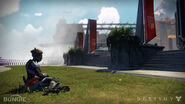 Guardian Sitting at the Tower-Destiny