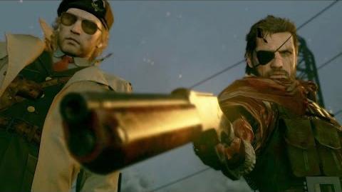 Gamescom 2015 TRAILER METAL GEAR SOLID V THE PHANTOM PAIN (US) ESRB KONAMI