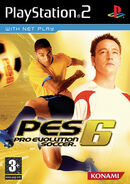 Pro Evolution Soccer 6 Cover