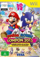 Mario & Sonic at the Olympic Games 2012 Cover