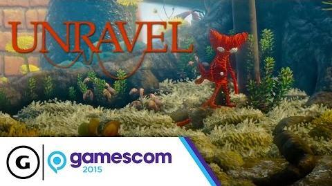 Unravel Gamescom 2015 Gameplay Trailer