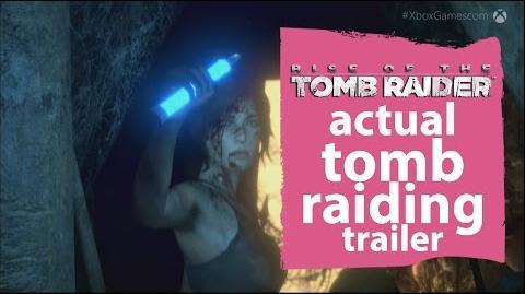 Rise of the Tomb Raider - Actual tomb raiding trailer - Gamescom 2015