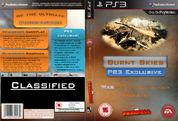Burnt Skies PS3 Exclusive Edition Box Art