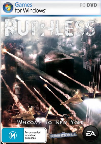Ruthless Front Cover - Games For Windows