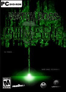 WATCH DOGS Genesis box art front page