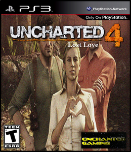 Uncharted 4 Lost Love Front Cover