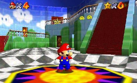 Super Mario 64 - Gameplay-468x