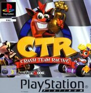 Crash Team Racing Platinum boxart