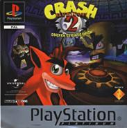 Crash Bandicoot 2 PAL Greatest Hits boxart