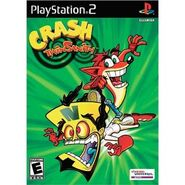 Crash Twinsanity PS2 NA boxart