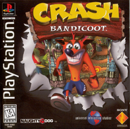 Crash Bandicoot 1 NA Boxart