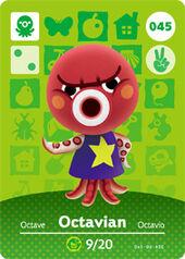 Amiibo AC Octavian card