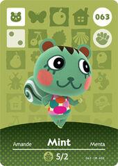 Amiibo AC Mint card